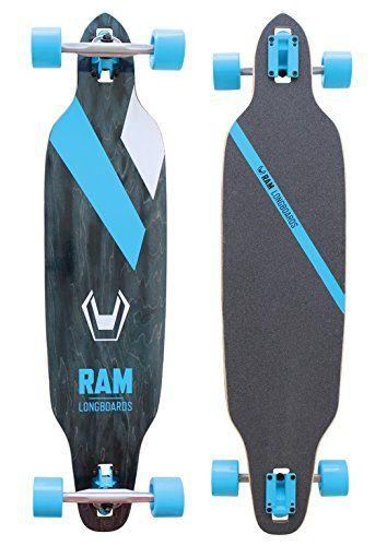 RAM FR1.0 Longboard schwarz/blau/weiß 2015 -