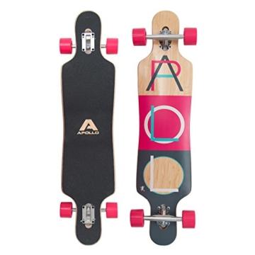 Longboard pink apollo-longboard-fidji